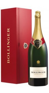Bollinger Special Cuvee Nebuchadnezzar In Red Wood Box