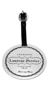 Laurent-Perrier Silver Luggage Tag