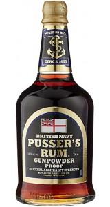Pusser's Gunpowder Proof British Navy Rum