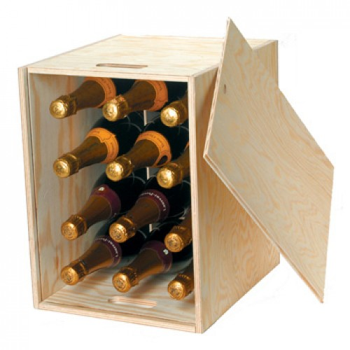 12 bottle wooden wine box next day delivery What to do with wine crates