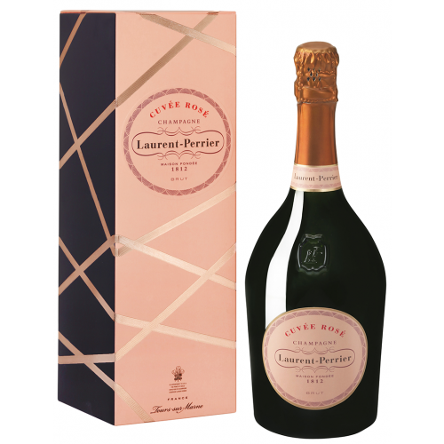 Laurent perrier rose champagne in gift box best price online for What is rose champagne
