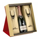 Bollinger Rose Gift Pack with glasses