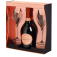 Laurent Perrier Rose 2 flute glasses