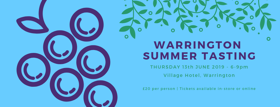 Warrington Summer Tasting 13th June 2019
