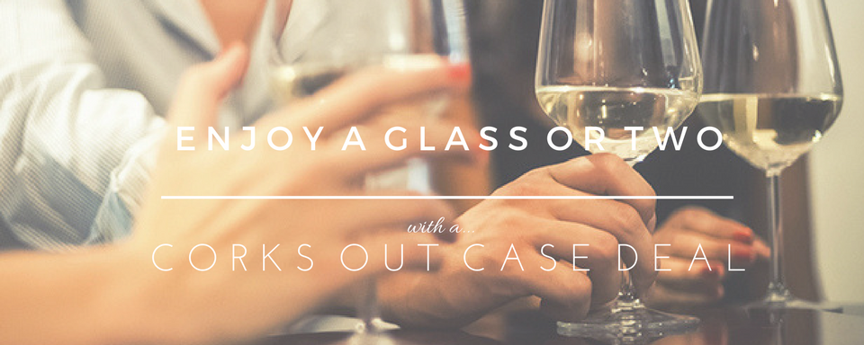 Wine Case Deals at Corks Out