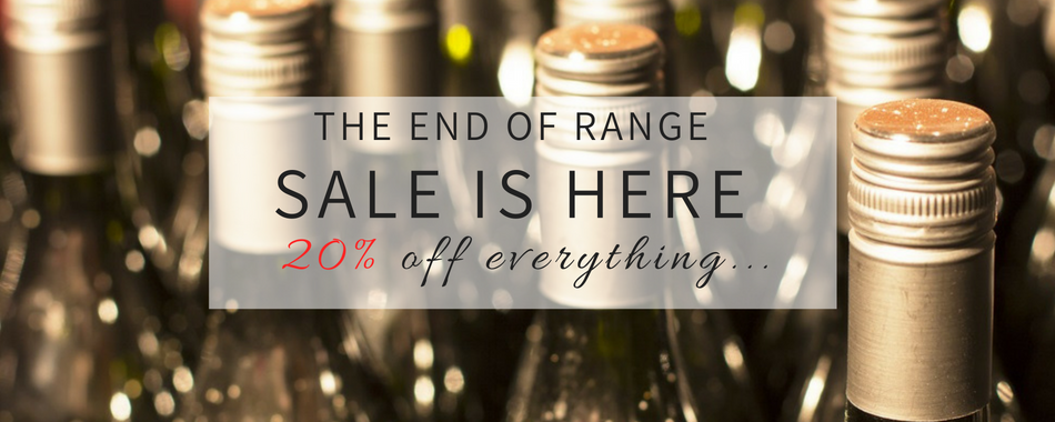 End Of Range 20% discounted wines