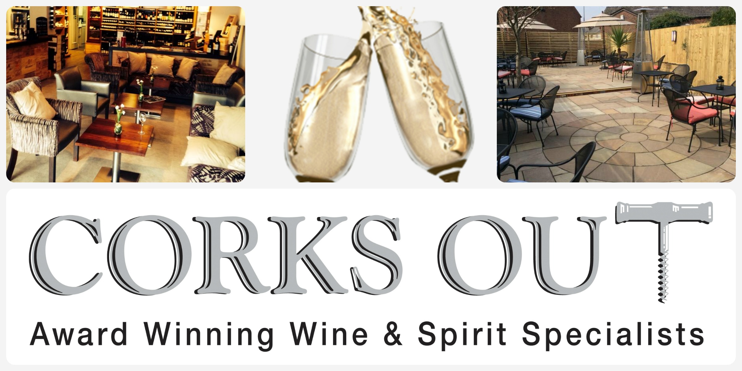Corks Out Stores and Tastings