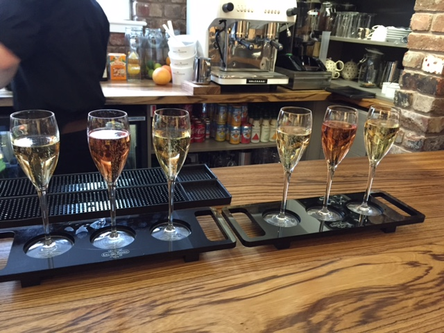 Corks Out Champagne Trios